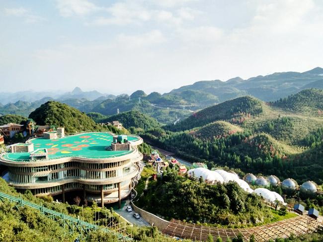 梅花山位于贵州省六盘水市钟山区西郊方圆约40平方公里海拔